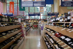 American Liquor Store Stock Image