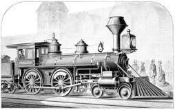 American Locomotive Royalty Free Stock Photos