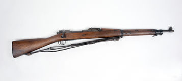 American M1903 Springfield rifle. American WWI .30-06 M1903 Springfield rifle. The standard US weapon of WWI it was also issued to many troops during WWII. As a Stock Photography