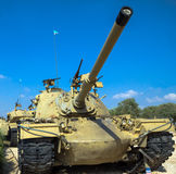 American made M48 A3 Patton Main Battle Tank.  Latrun, Israel Royalty Free Stock Photography