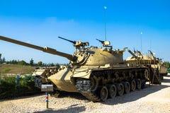 American made M48 A3 Patton Main Battle Tank . Latrun, Israel Stock Photo