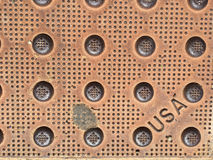 American Made Rusty Grunge Royalty Free Stock Photography