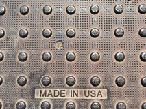 American Made Rusty Grunge Stock Photo