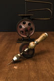 American Made Woodworker Hand Drill Stock Images