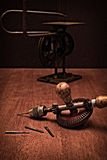 American Made Woodworker Hand Drill Stock Photography