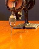 American Made Woodworker Hand Drill Stock Image