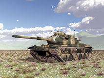 American main battle tank of the cold war Stock Photo