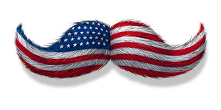 American Man Icon Royalty Free Stock Images