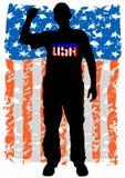 American man three Royalty Free Stock Image