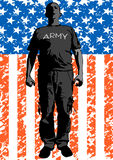 American man two Stock Photos