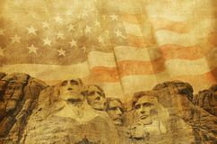 American Memorial Background Royalty Free Stock Photography
