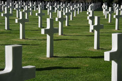 American memorial cemetery Stock Photography