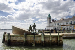 American Merchant Mariners' Memorial Stock Images