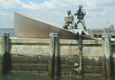 American Merchant Marines Monument  in Lower Manha Stock Photography