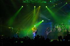 American Metal Band- Megadeth Royalty Free Stock Images