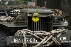 American military car Royalty Free Stock Photo