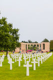 American Military Cemetery, Omaha Beach, Colleville-sur-Mer Stock Photos