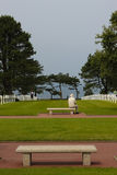 American Military Cemetery, Omaha Beach, Colleville-sur-Mer Stock Image