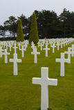 American Military Cemetery, Omaha Beach, Colleville-sur-Mer Stock Photography