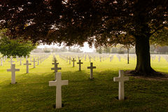 American military cemetry Stock Photo
