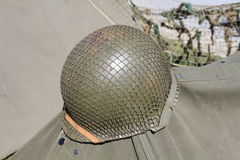 American military helmet Royalty Free Stock Photo