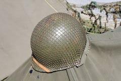 American military helmet Royalty Free Stock Photo