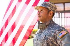 American military serviceman Stock Photo