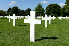 American military war cemetery Stock Photo