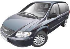 American minivan Royalty Free Stock Image