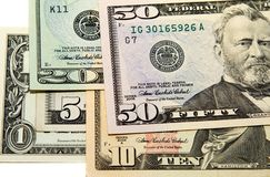 American money Royalty Free Stock Photos