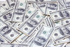 The American money Royalty Free Stock Images