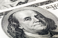 American Money Close Up Stock Images