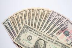 American Money, new Dollar bills Royalty Free Stock Photos