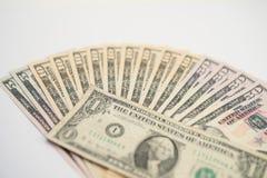 American Money, new Dollar bills Stock Image