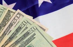 american money paper Royaltyfri Foto