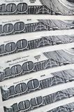 American Money - US Dollar Notes Royalty Free Stock Images
