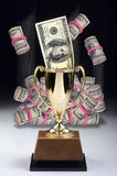 American Money winner. Royalty Free Stock Photo