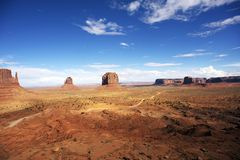 American Monuments Valley Stock Photography