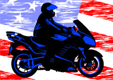 American motorcycle Stock Photo