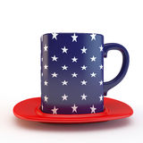 American mug Royalty Free Stock Photo