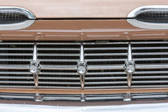American muscle car, front view Stock Photography