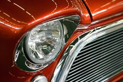 American Muscle car grill Stock Image
