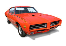 American Muscle Car GTO- isolated Stock Images