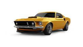 American Muscle Car Stock Image