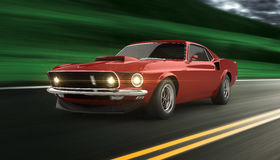 American Muscle Car Royalty Free Stock Photography