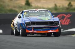 American Muscle Car Racing royalty free stock photography