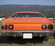 American Muscle Car Rear View Stock Images