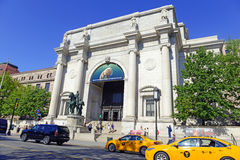 American Museum of Natural History in Manhattan Stock Image