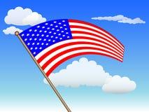 American national flag Stock Image