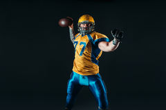 American national football league player NFL Royalty Free Stock Photography